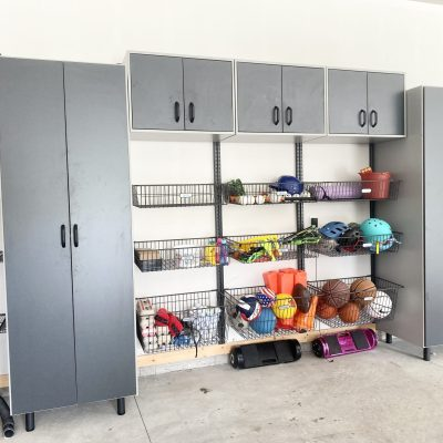 Custom Garage Organization System + Storage Ideas