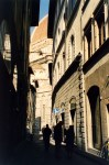 Florence Duomo, alley view