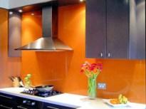 Glass Kitchen Backsplash Installation