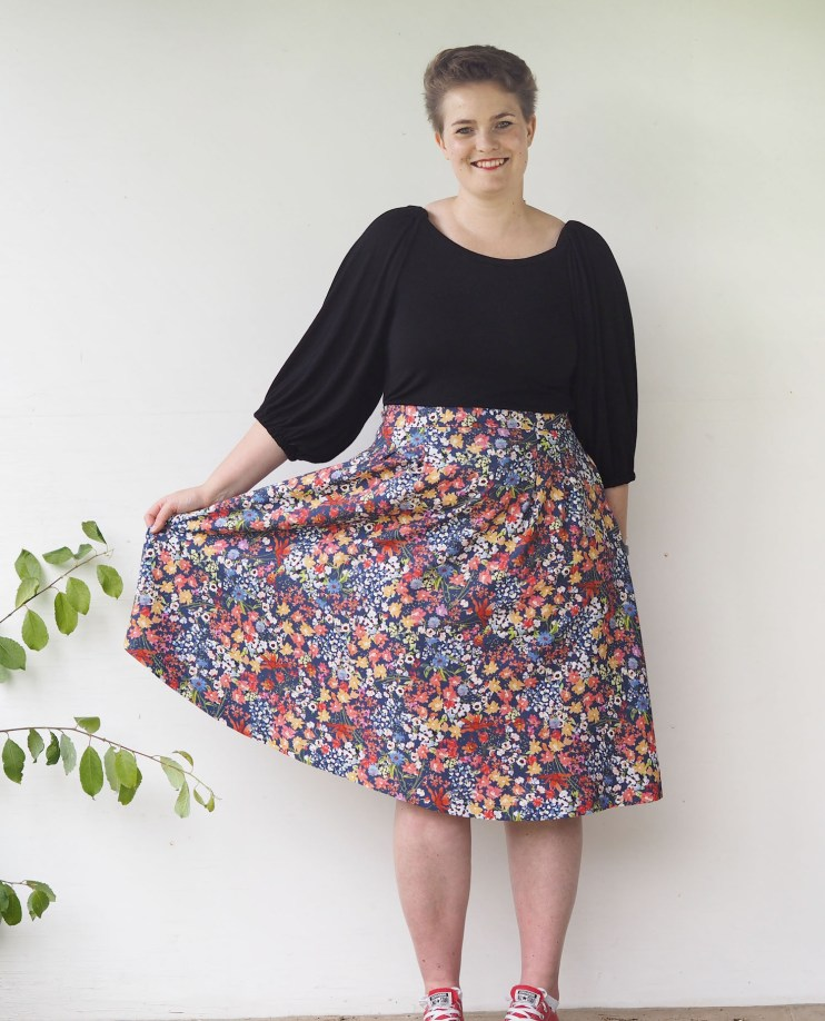 Sophia Skirt by The Wardrobe Architect