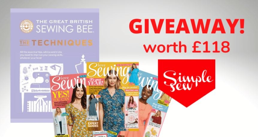 sewing bee book offer