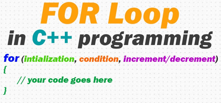 for loop in c++ featured image