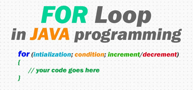 java for loop - featured image