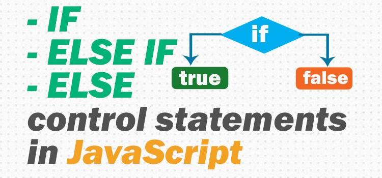 javascript if else control statements - featured image