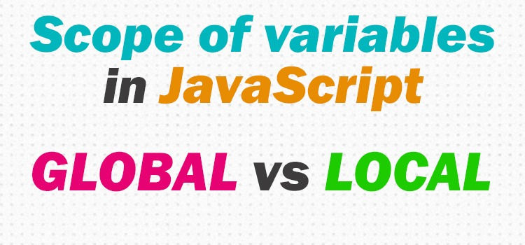 scope of variables in js - featured image