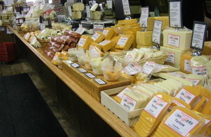 Hugh Variety of Cheese