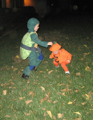 Turtle and the Pumpkin 2007 - Simple Sojourns