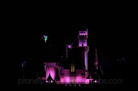 Tinkerbell and Sleeping Beauty Castle - Simple Sojourns