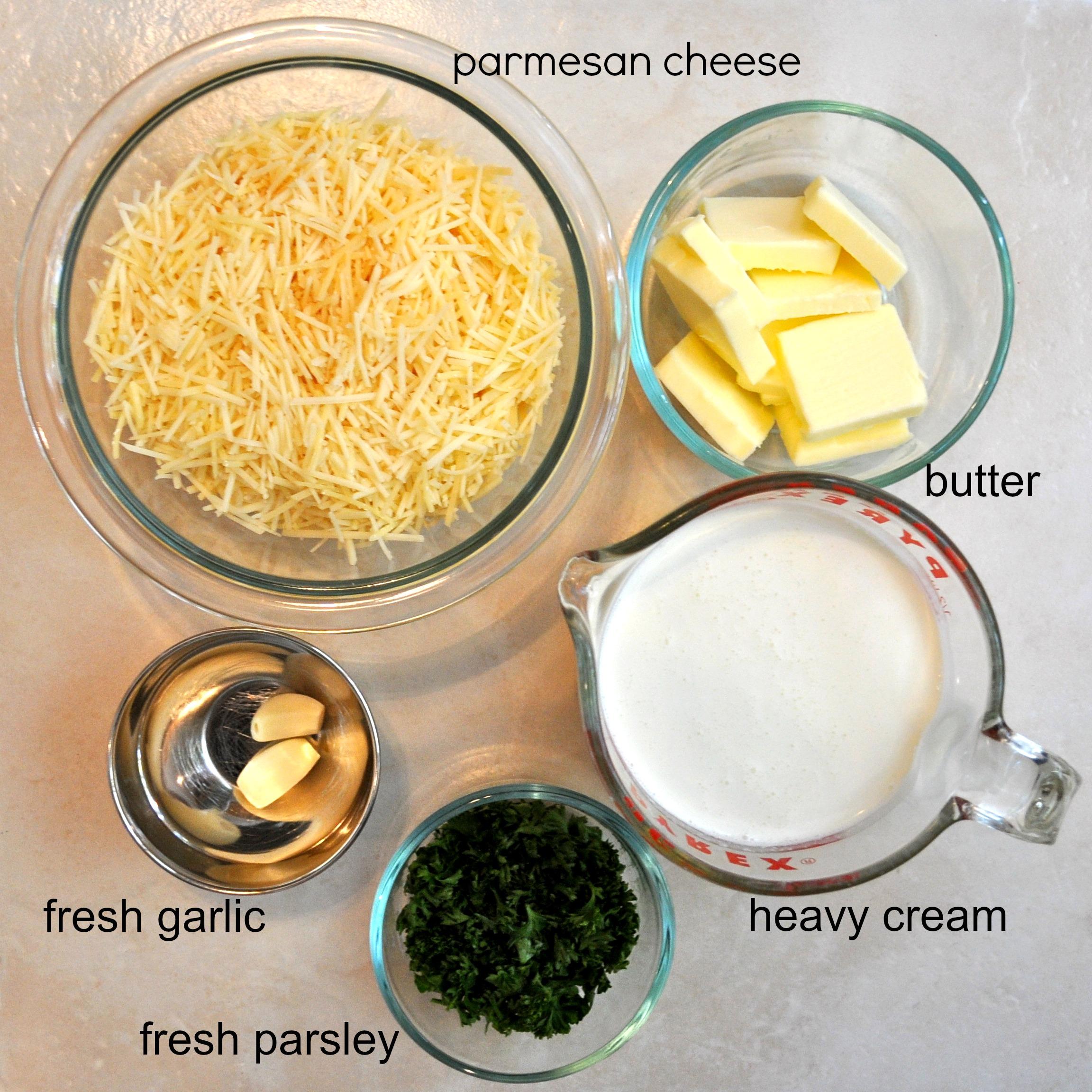 Homemade Alfredo Sauce - Simple Sojourns