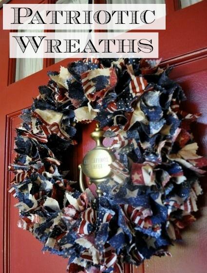 Patriotic Wreaths - Simple Sojourns