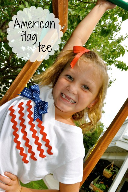 Girl's American Flag Tee 6 - Simple Sojourns