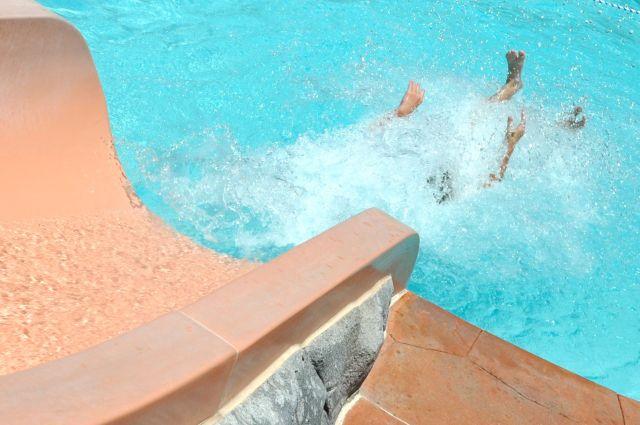 Water Slide   Simple Sojourns