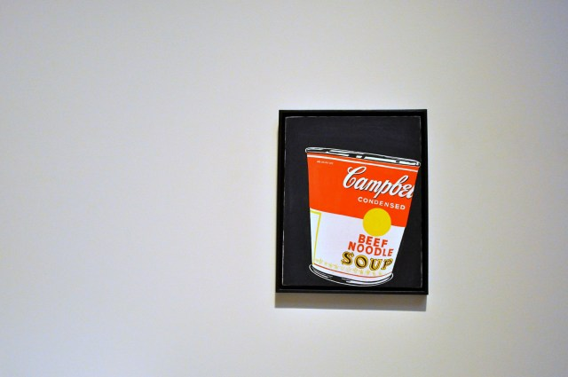 Andy Warhol small crushed campbell's soup can - simple sojourns