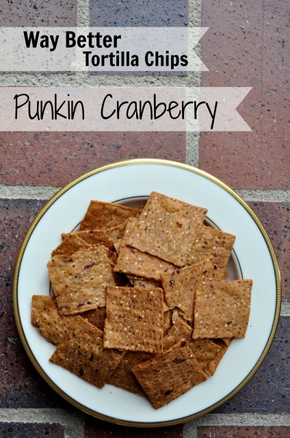 Way Better Snacks Punkin Cranberry Tortilla Chips - Simple Sojourns