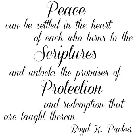 Peace in the Scriptures - Simple Sojourns