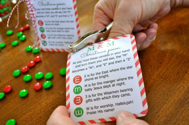 christmas mm poem crafts