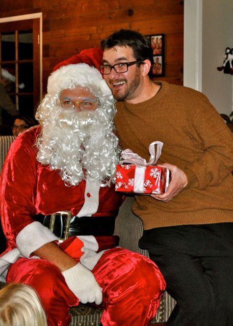 Todd and Santa Claus 2013