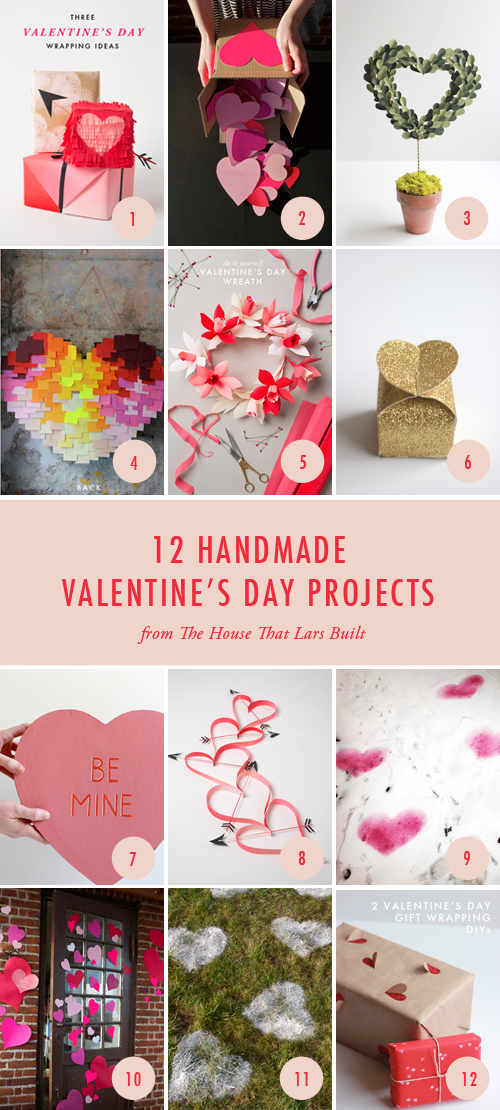 12 Handmade Valentine's Day Projects