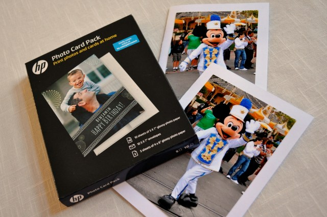 #DisneySide HP Photo Card Pack - Simple Sojourns