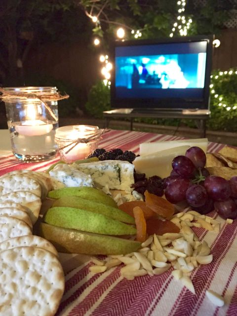 Backyard Movie Night - Simple Sojourns