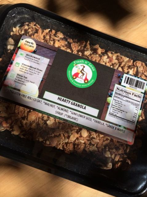Fresh N Lean Hearty Granola - Simple Sojourns
