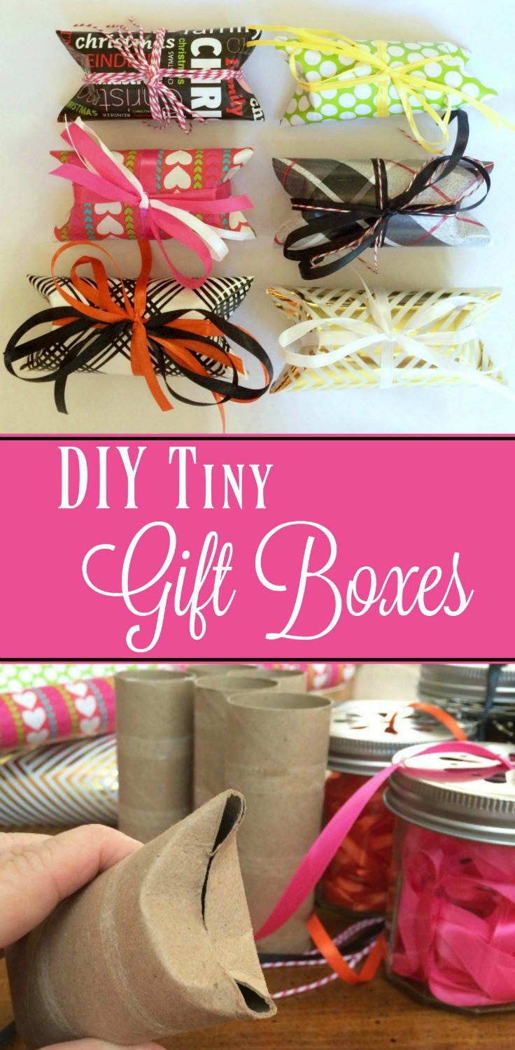 DIY Tiny Gift Boxes - Simple Sojourns