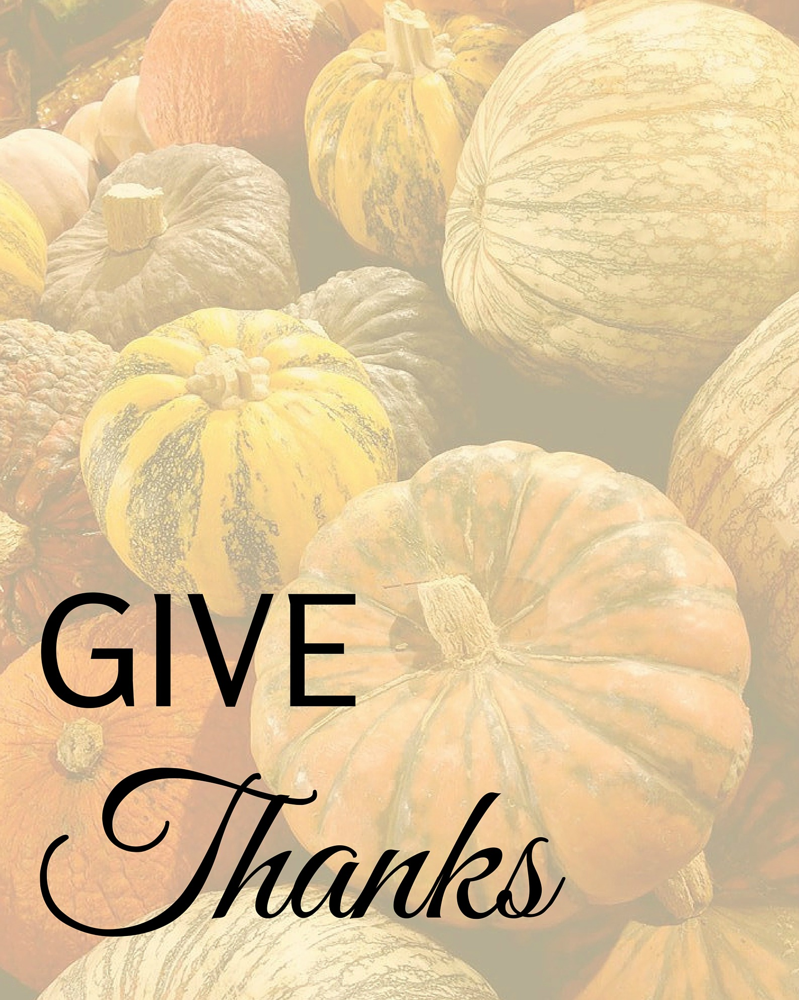 Give Thanks - Simple Sojourns