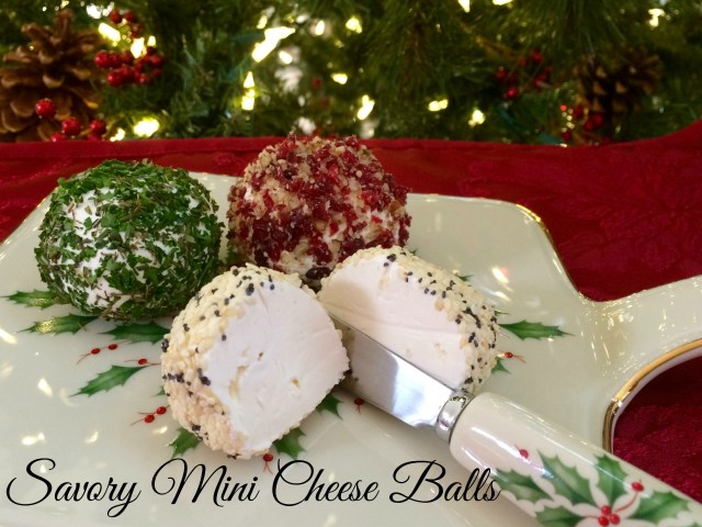 Savory Mini Cheese Balls - Simple Sojourns