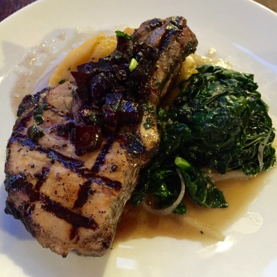 Basil Grilled Pork Chop - Simple Sojourns