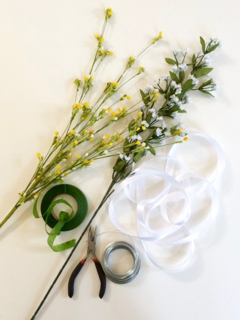 Flower Crown Supplies - Simple Sojourns