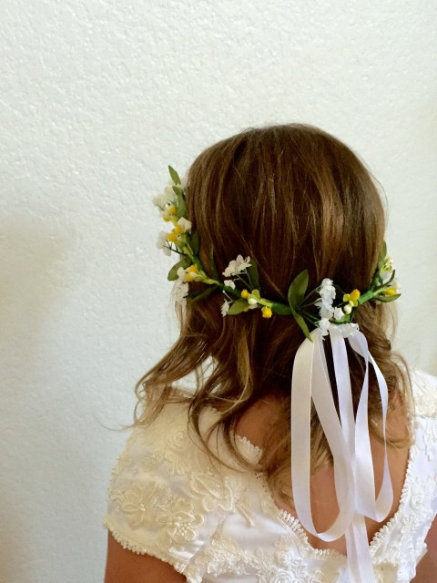 Kennedy DIY Flower Crown - Simple Sojourns