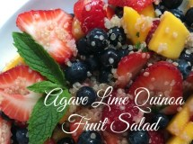 Agave Lime Quinoa Fruit Salad