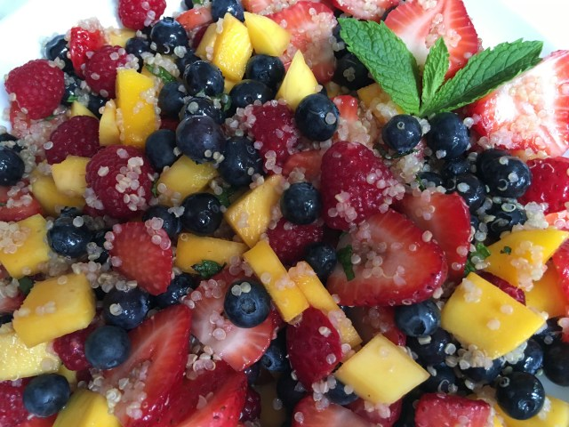 Agave Lime Quinoa Fruit - Simple Sojourns