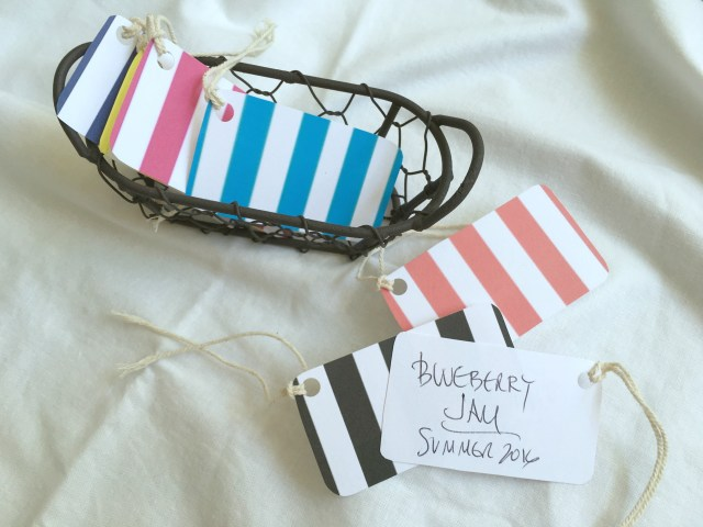 Brightly Colored Striped Gift Tags - Simple Sojourns