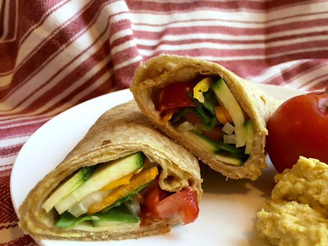 Grilled Veggie Wraps - Simple Sojourns