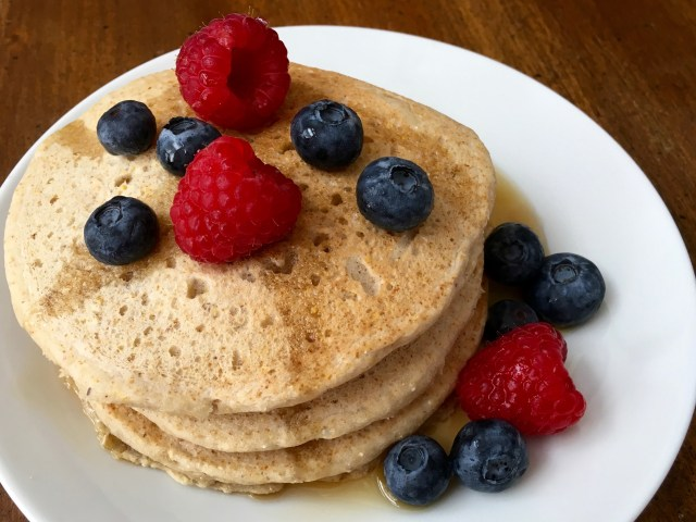 Perfect Vegan Pancakes - Simple Sojourns