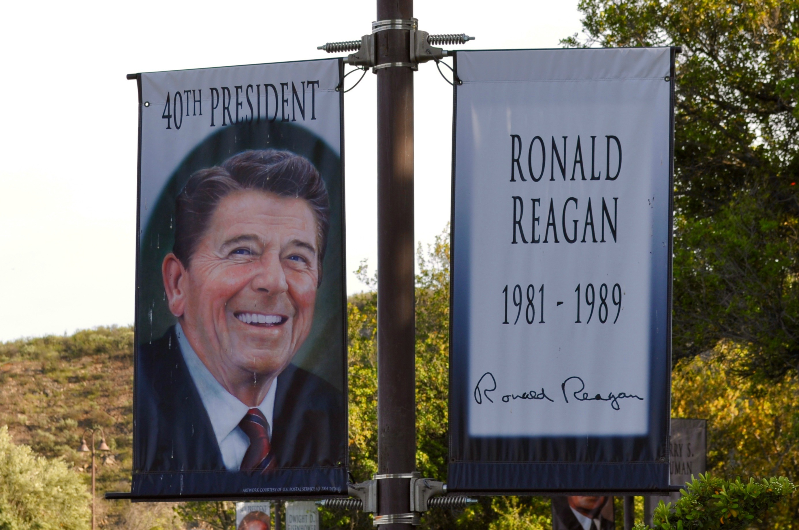 Ronald Reagan Library Banners - Simple Sojourns