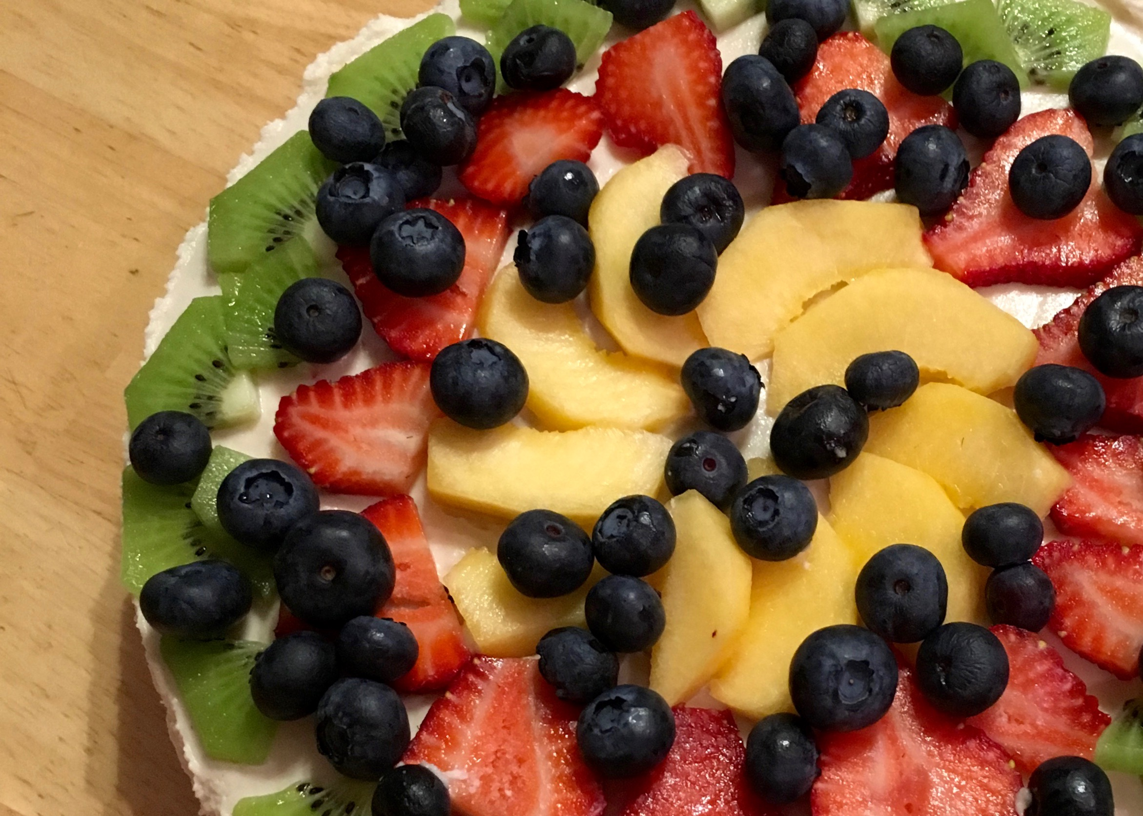 Summer Fruit Vegan Tart - Simple Sojourns