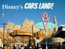 Disney California Adventure Park Cars Land