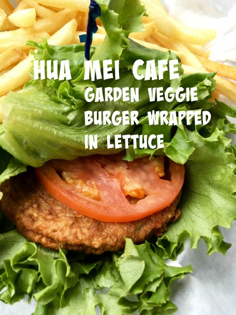 Garden Veggie Burger Wrapped in Lettuce - Simple Sojourns