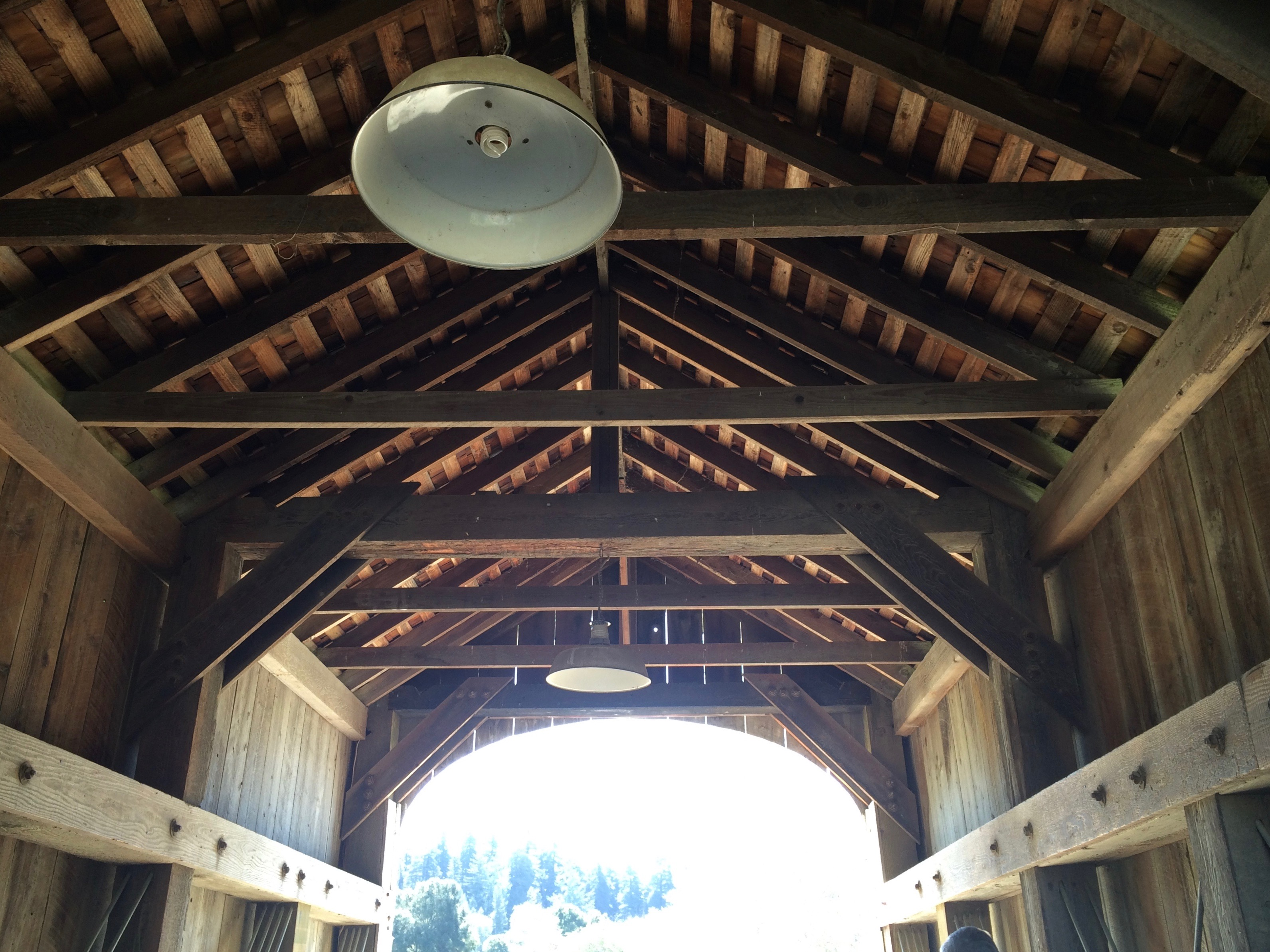 Roaring Camp Covered Bridge - Simple Sojourns
