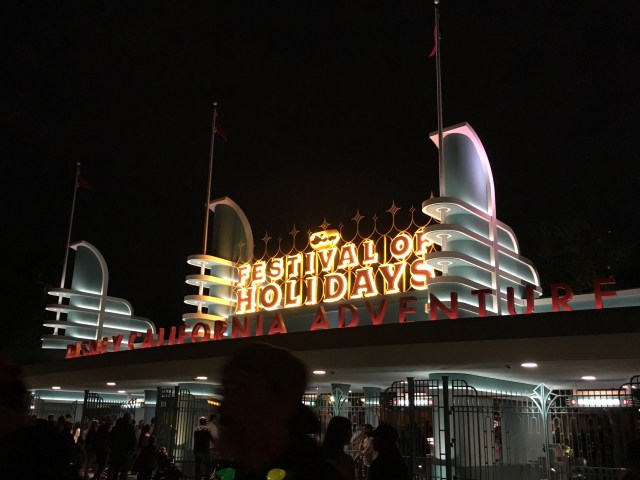 Disney California Adventure Festival of Holidays - Simple Sojourns