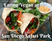 Eating Vegan at Safari Park