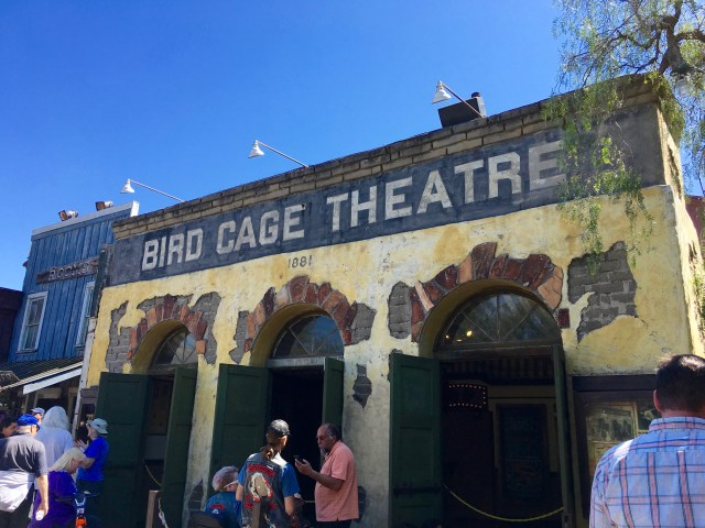 Knott's Berry Farm Bird Cage Theatre - Simple Sojourns