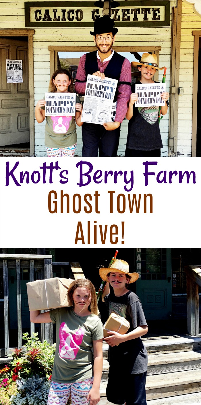Knott's Berry Farm Ghost Town Alive! - Simple Sojourns