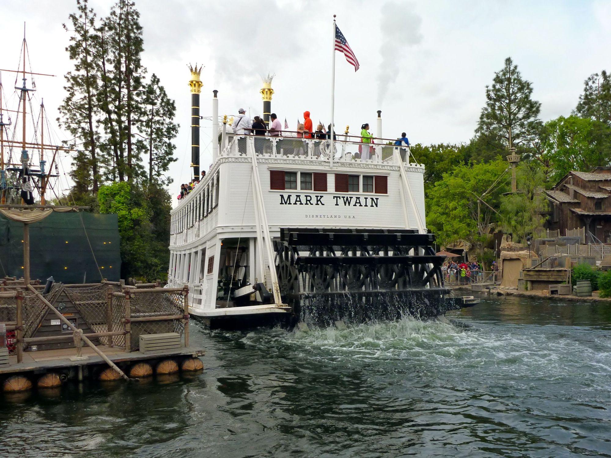 Disneyland Mark Twain Riverboat - Simple Sojourns