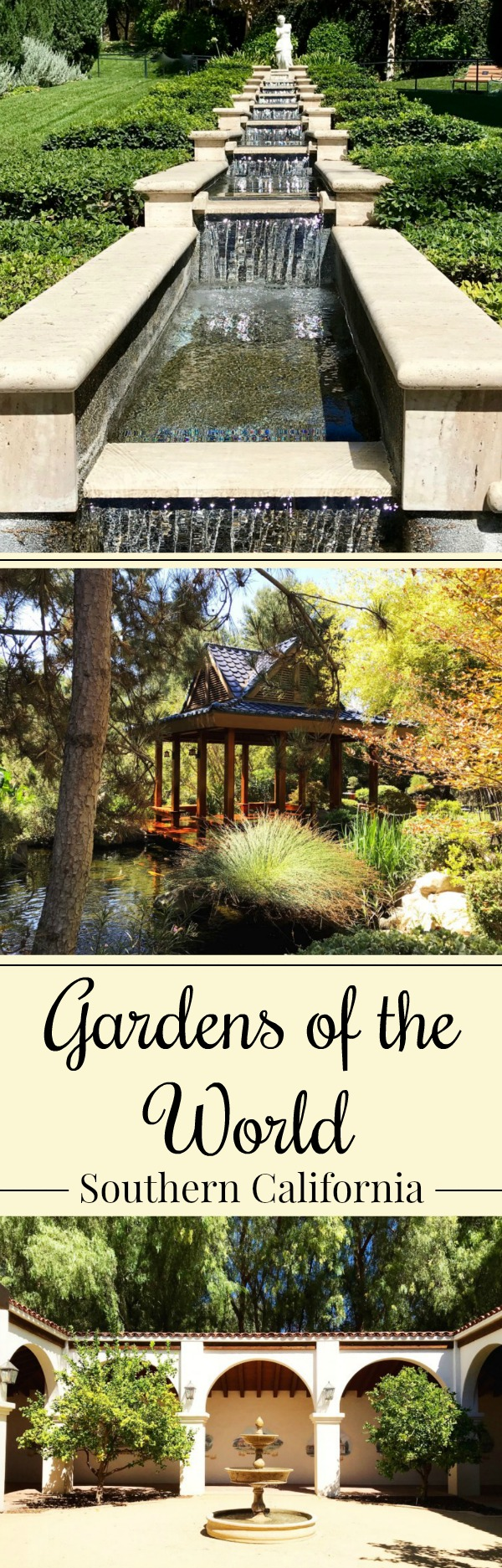 Gardens Of The World - Thousand Oaks California #ad #VisitConejoValley #ThousandOaks #Travel #SouthernCalifornia - Simple Sojourn