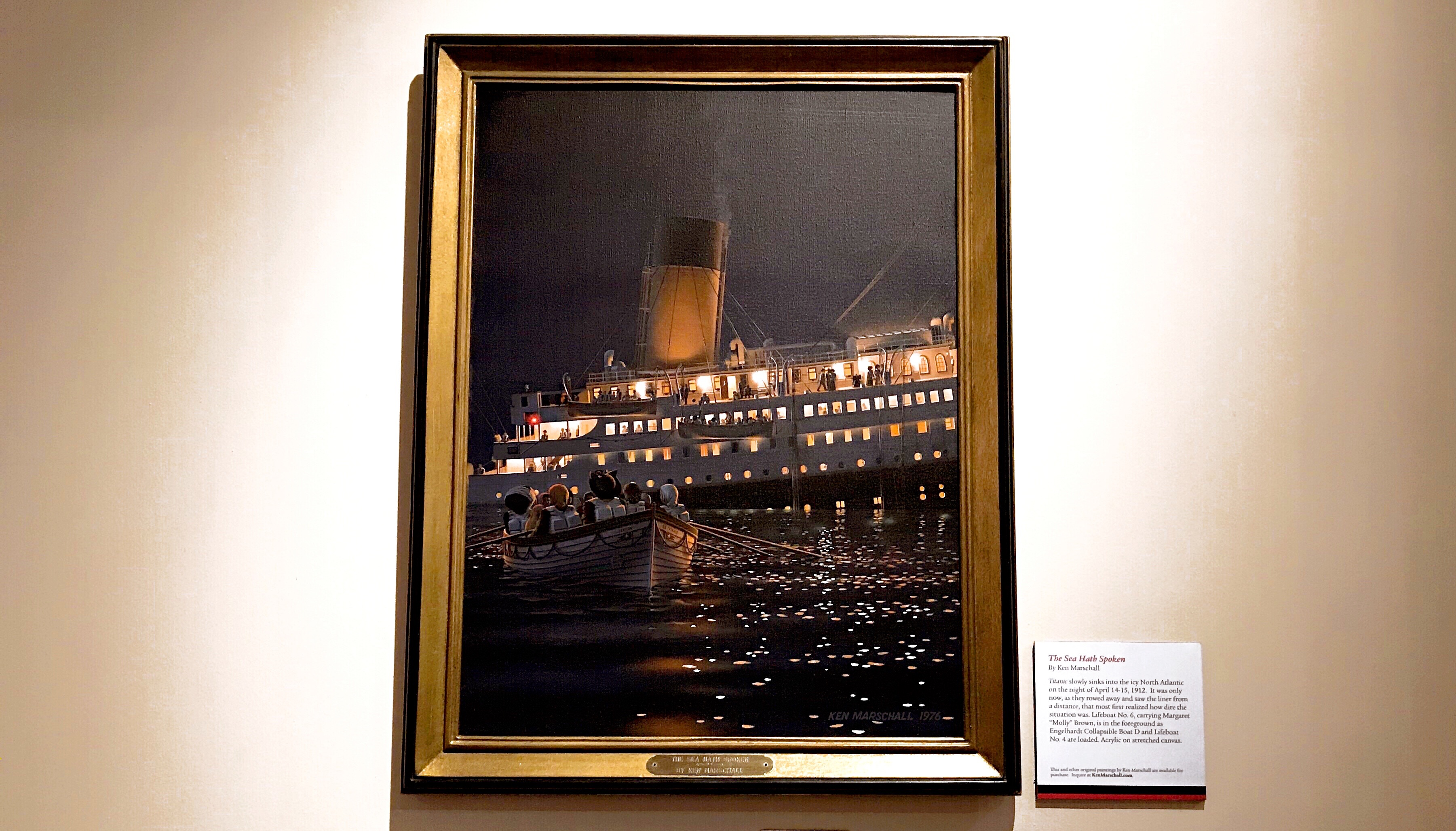 Reagan Library Titanic Exhibit - Simple Sojourns