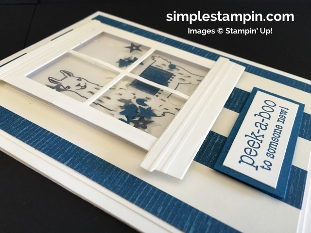 Simple Stampin' Baby Card, Shaker Card Stampin' Up!, Birthday Fiesta Bundle, Suite Sayings Stamp, Susan Itell