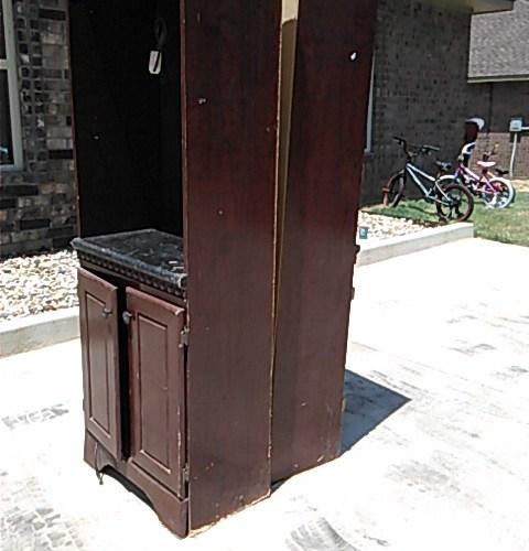 DYI:  Flea Market Cabinets Makeover!
